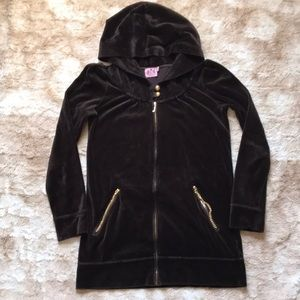 Juicy Couture zip-up long hoodie/jacket